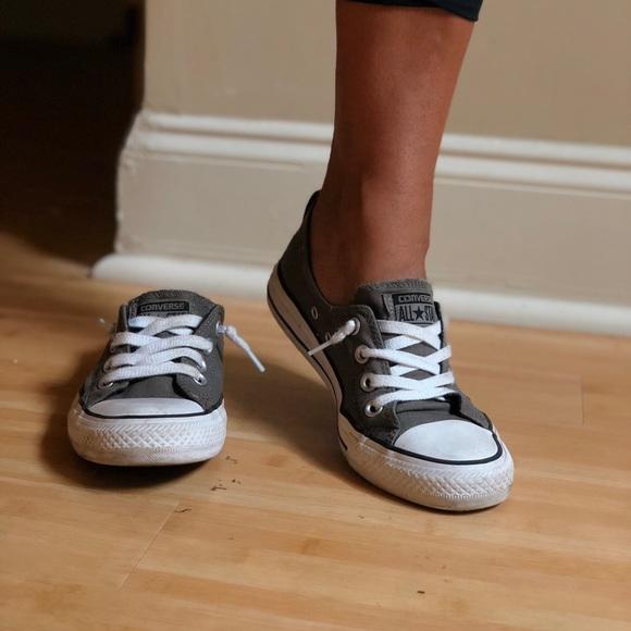 Converse Shoes | Grey Comfortable